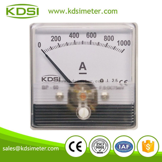 China Supplier BP-60N 60*60 DC75mV 1000A analog ammeter dc amps
