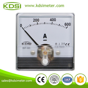 KDSI welding machine meter BP-60N DC75mV600A dc current ampere panel meter