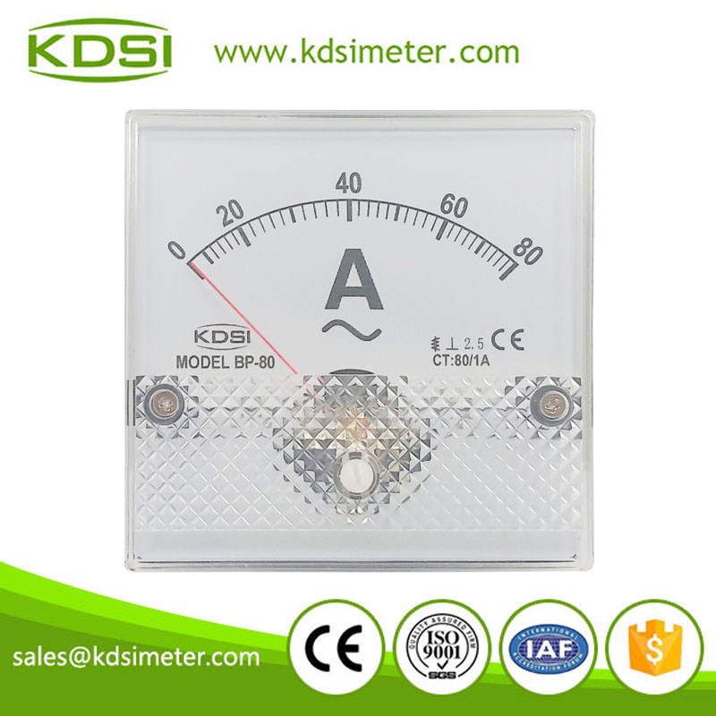 Safe to operate BP-80 80*80 AC80/1A super-mini ammeter