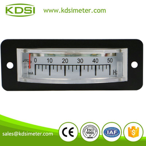 Thin edgewise BP-15 DC4-20mA 50Hz Frequency Meter analog Panel Meter Hz Meter with current output