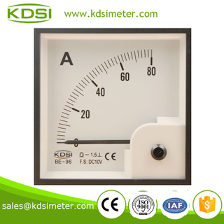 Dustproof BE-96 96*96 DC10V 80A electronic ammeter voltmeter