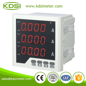 BE-96 3AA three phase ampere meter current meter LED digital display