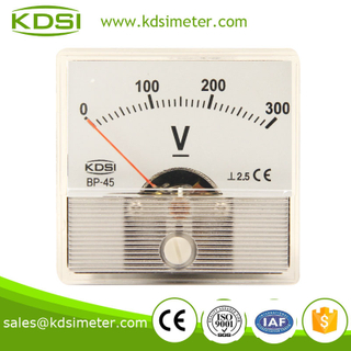 New model BP-45 DC300V transparent cover voltmeter analog