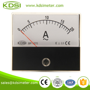 KDSI BP-670 AC Ammeter AC20A panel current ammeter,Battery charger meter