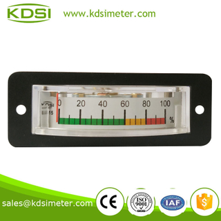 KDSI electronic apparatus BP-15 100% DC10V color scale ananlog load meter