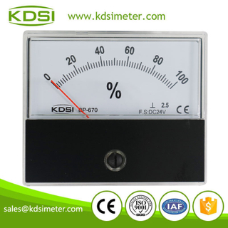 KDSI Portable precise BP-670 DC24V 100% panel percent load meter