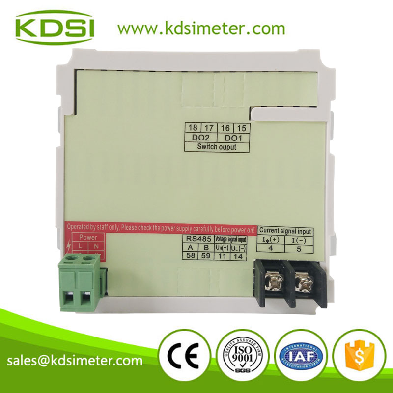 KDSI BE-96DA DC+-60mV+-400A AC/DC80V-270V digital display panel mounted led dc ammeter