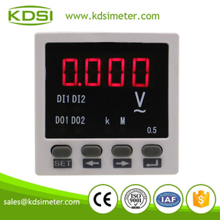 Mini type BE-48AV AC220V single phase digital ac voltmeter