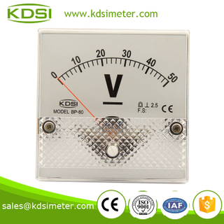BP-80 80*80 DC Voltmeter DC50V factory direct sales analog panel meter
