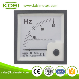 KDSI CE certificate BE-80 DC10V 60HZ analog voltage frequency meter