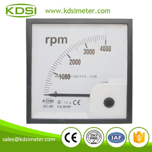 Industrial universal BE-96 DC10V 4000rpm dial tachometer