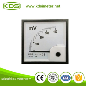 Portable precise BE-96 96 * 96 DC400mV analog dc panel millivoltmeter