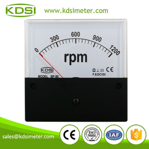Factory direct sales BP-80 DC10V 1200rpm black cover voltage dial rpm tachometer