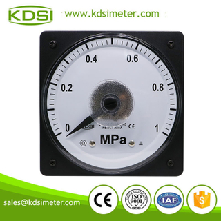 Easy operation marine meter LS-110 4-20mA 1MPa analog wide angle pressure meter