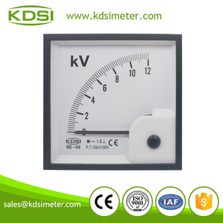 Easy operationl BE-96 96 * 96 AC12KV 10KV/100V with rectifiervoltmeter analog
