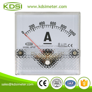 Safe to operate BP-80 DC50mV 1000A analog dc ammeter for welding machine