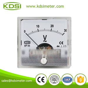 Hot Selling Good Quality BP-45 AC Voltmeter AC30V ac voltmeter with rectifier