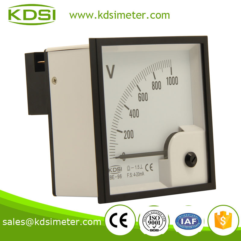 KDSI electronic apparatus BE-96 96*96 DC4-20mA 1000V current voltmeter