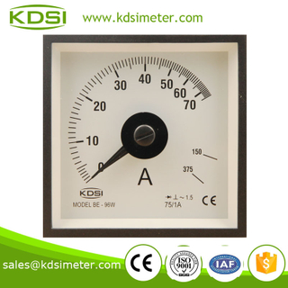 BE-96W AC Ammeter with rectifier AC75/1A