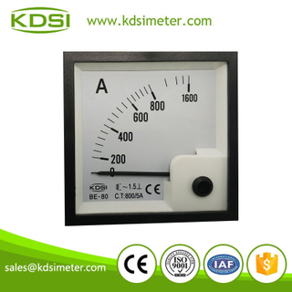 Factory direct sales BE-80 AC800/ 5A automotive ammeter