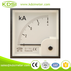 Factory direct sales BE-96 96*96 DC+-10V +-4KA voltage current meter