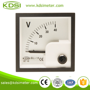 BE-48 DC Voltmeter DC40V panel meter