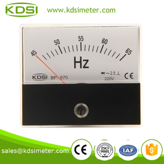 BP-670 Frequency meter 220V 45-65HZ factory direct sales panel meter,HZ meter