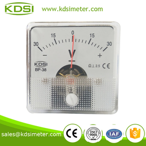 Easy operation BP-38 DC+-30V analog dc voltmeter