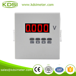 High precision digital panel voltmeter