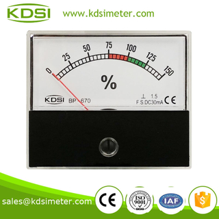 CE certificate Taiwan technology BP-670 DC30mA 150% load meter