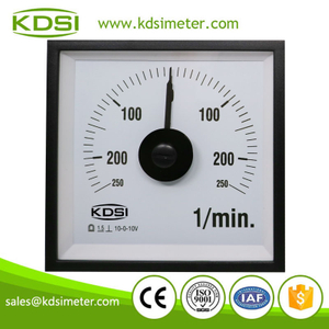Original manufacturer high Quality BE-96W DC+-10V+-250l/min wide angle analog marine fuel oil flow meter
