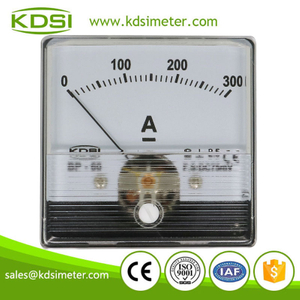 High quality professional BP-60N DC75mV 300A analog panel dc ampere meter for shunt