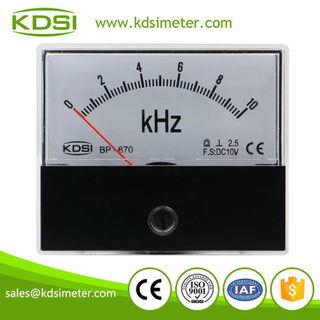Original manufacturer high Quality BP-670 DC10V 10kHz panel analog voltage Hz display meter