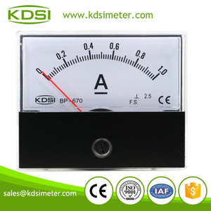 20 years Professional Manufacturer BP-670 DC1A analog dc high precision ammeter