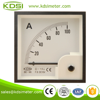 Classical BE-96 96*96 DC10V 100A ammeter voltmeter