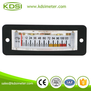 Factory direct sales BP-15 DC10V 120% voltage dc panel load percent meter