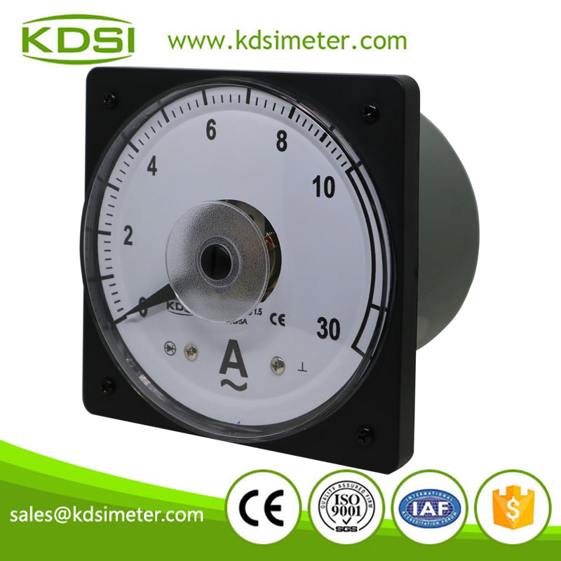 Hot Selling Good Quality LS-110 AC10/5A 3times overload panel marine ammeter with output
