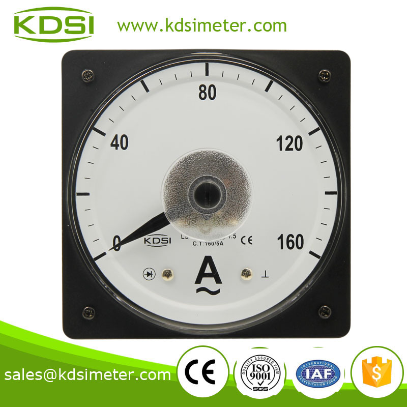 LS-110 AC Ammeter 160/5A wide angle electric current meter