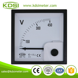 Original manufacturer high Quality BE-72 AC450V direct analog ac panel mount voltmeter