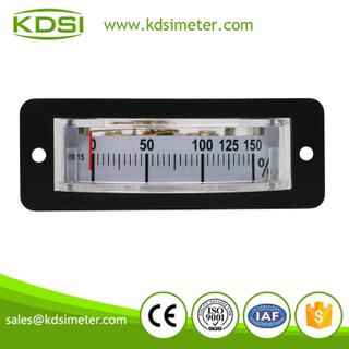 Thin edgewise classical BP-15 DC10V 150% industrial moving coil analog load panel meter