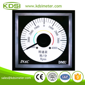 Hot Selling Good Quality BE-96W DC4-20mA +-4000 rpm backlighting analog panel engine rpm meter