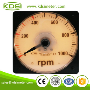 Original manufacturer high Quality LS-110 DC4-20mA 1000rpm backlighting analog rpm panel meter