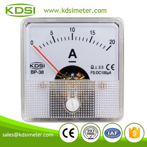 New Hot Sale Smart BP-38 DC100uA 20A analog panel small ammeter