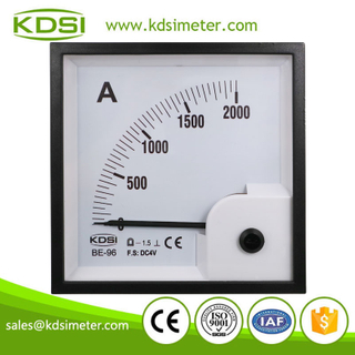 Hot Selling Good Quality BE-96 DC4V 2000A analog amp current panel meter