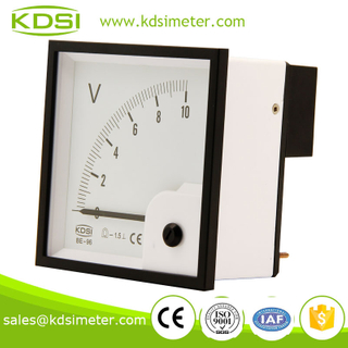 Square type BE-96 96*96 DC10V DC Voltmeter