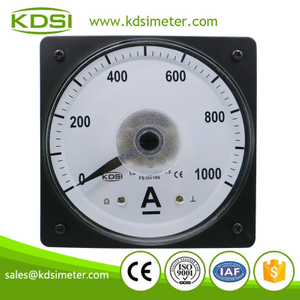 Easy installation LS-110 DC10V 1000A panel analog wide angle display ammeter