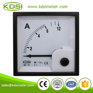 Easy installation BE-72 72*72 AC6A panel ac analog galvanometer