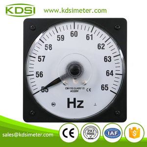 20 Years Manufacturing Experience LS-110 55-65HZ 220V analog panel electrical resonance frequency meter