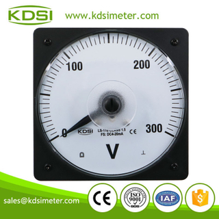 Instant flexible LS-110 DC4-20mA 300V Analog Voltage Panel Meter voltmeter Gauge