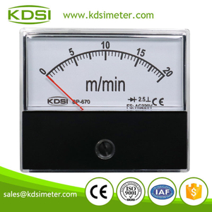 New Hot Sale Smart BP-670 AC220V 20m/min panel analog mechanical tachometer